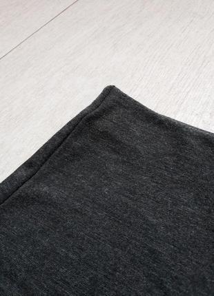Юбка мини по фигуре карандаш ассиметрия2 фото