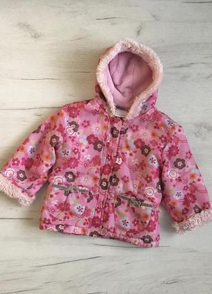 Куртка для девочки осень весна демисезонная 2-3 г