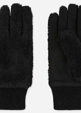 Женские флисовые перчатки heattech
