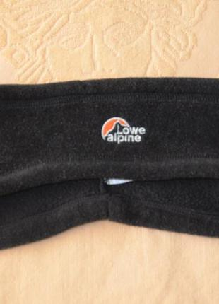 Теплая налобная повязка love alpine (l/xl)