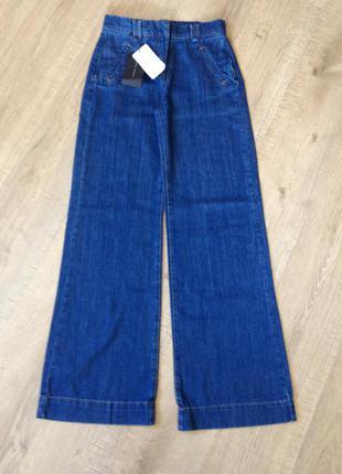 Хіт сезону! круті джинси-кльош від zara, нові, з етикетками