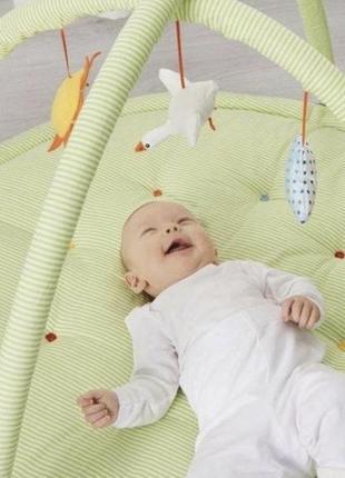 Ikea leka коврик детский
