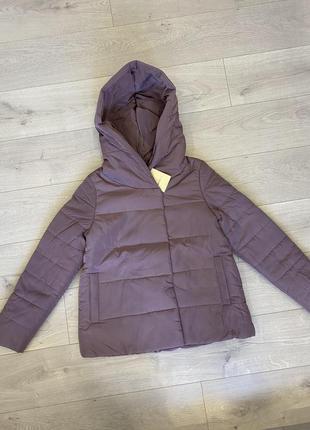 Свободная осенняя куртка с капюшоном (и для беременных)