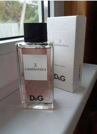 Dolce&gabbana l`imperatrice 3 женский парфюм