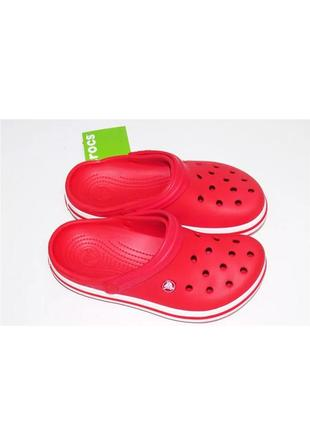 Crocs crocband clog женские сабо crocs женские сабо crocs красного цвета