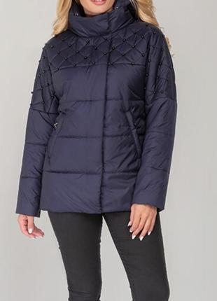 Практичная и нежная куртка на осень