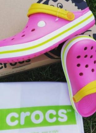Crocs crocband clog женские сабо crocs женские сабо crocs розового цвета