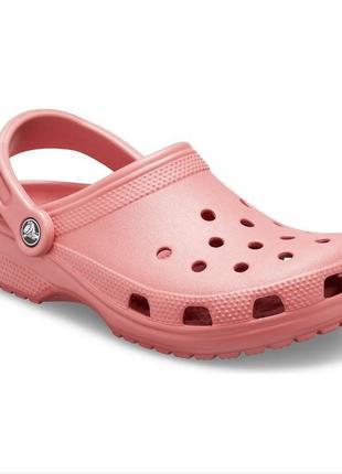 Женские сабо crocs женские сабо crocs розового цвета