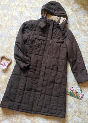 Осенняя куртка-плащ. на бирке- 14 р-р(48-50)