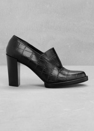 Туфли лоферы & other stories из натуральной кожи