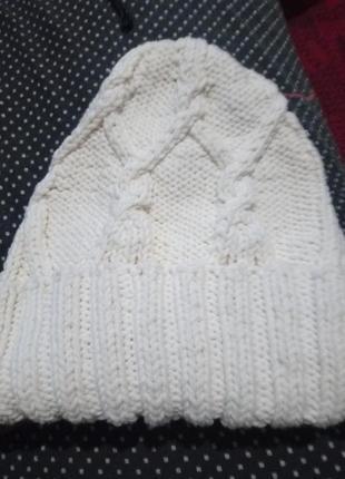 Вязаная шапка 💕