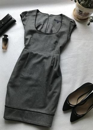 🌿базовое тёплое платье в составе шерсть и кашемир