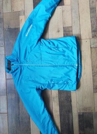 Ультратеплая куртка salomon
