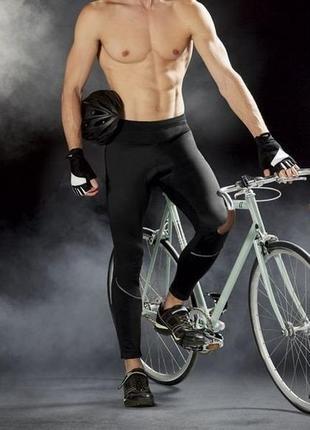 Вело штаны, спортивные, термо, crivit, размер m(48/50)