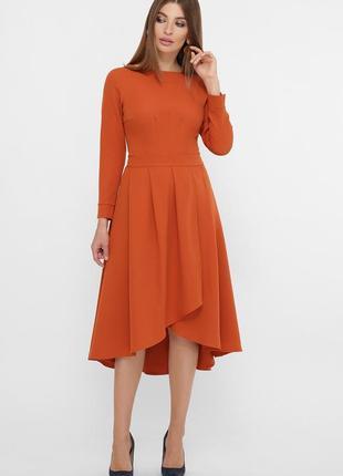 Красивое платье миди с креп-дайвинга ♡