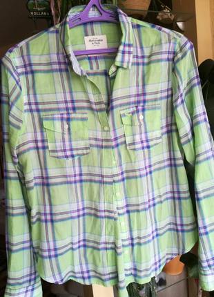Рубашка abercrombie & fitch2 фото