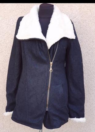 Тёплое пальто кофта