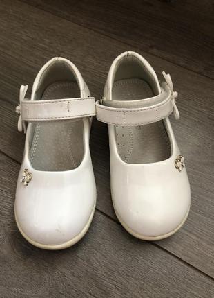 Туфельки для девочки 25 размер