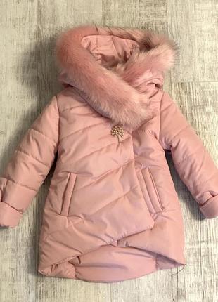 Куртка зима тёплая с мехом