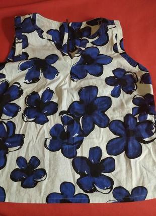 Льняна блуза