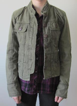 Джинсовая куртка размер xs