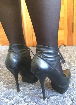 Сексуальные туфельки шпилька
