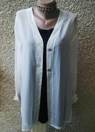 Красивая,легкая,прозрачная блуза,рубаха,жакет,пиджак(пляжный)вискоза, италия