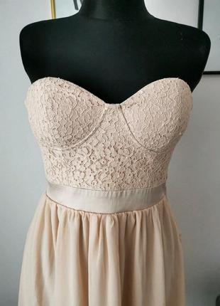 Новое корсетное платье4 фото