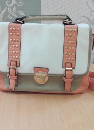 Супер стильная сумка портфель