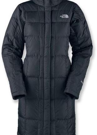 Пуховое пальто пуховик куртка the north face
