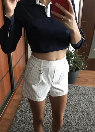 Шорти шорты bershka очень стильные