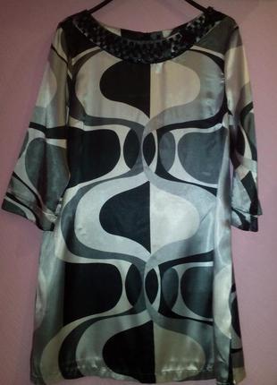 Симпатичное шелковое платье evie collection