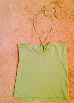 Милейший топ пастельно-зеленого цвета