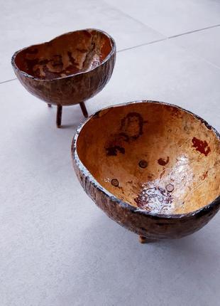 Посуда из кокоса/тарелки/пиалы/эко