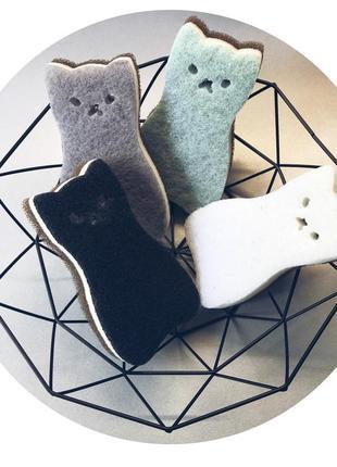 Набор губок «котята»