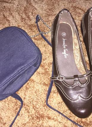 Осень удобные туфли от jennifer tailor