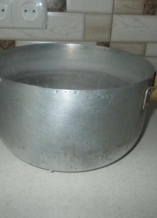 Кастрюля алюминиевая ссср. 4,5 литра