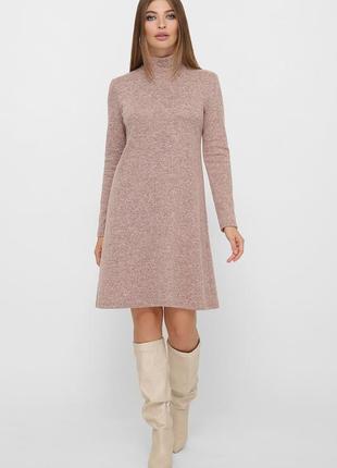 Комфортное базовое платье (весна-осень)