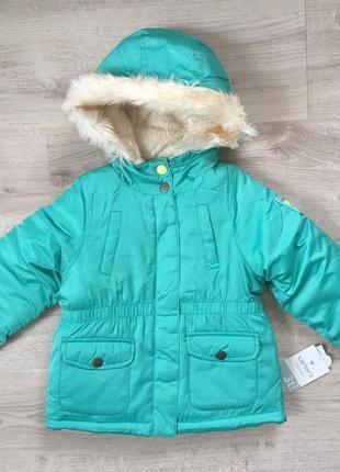 Куртка осень зима для девочки carter's картерс
