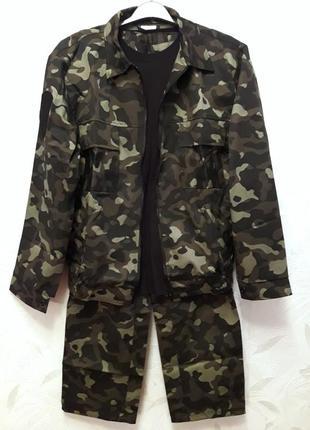 Квмуфляжный костюм 50-52-54?, футболка l/48-50, кепка в подарок.