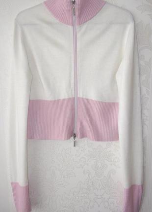 Укороченная кофта (свитер) на замочке (l)