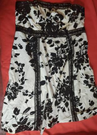 Платье- бандо