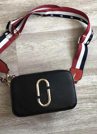 🔥 женская сумка клатч чёрного цвета 🔥