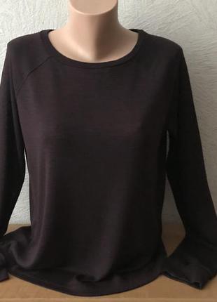 Fb sister свитшот джемпер трикотажный кофта реглан прямого кроя в идеале