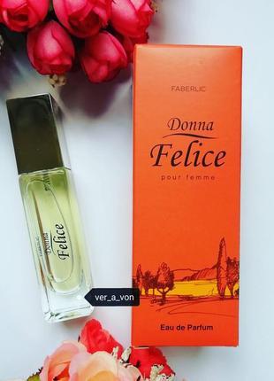 Парфюмерная вода donna felice от фаберлик