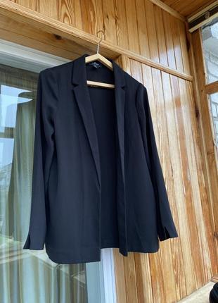 Крутой двубортный удлинённый пиджак жакет блейзер брючный костюм