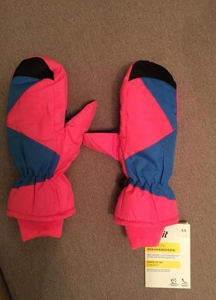 Рукавиці, перчатки, лижні рукавиці