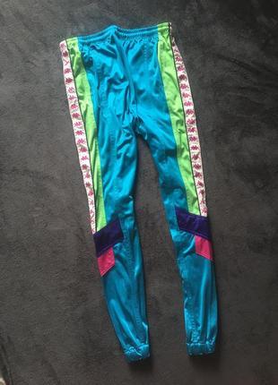 Виниажные штаны kappa с лампасами хл (спортивный костюм)