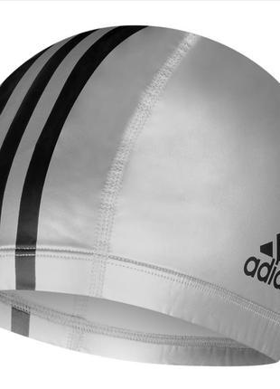 Оригинал шапочка для плавания с покрытием adidas pu 1pc