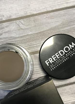 Помадка для бровей ash brown freedom